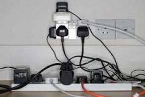 overloaded power strips