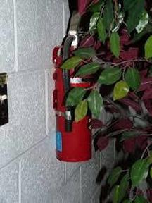 hidden fire extinguisher