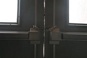 locked exit