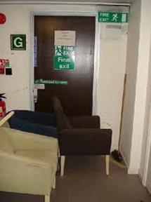blocked exit