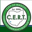 City of Mason CERT logo