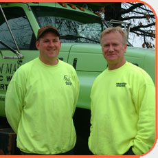 Snow Plow Drivers Eric and Mike