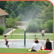 Pine Hill Lakes Park Water Playground