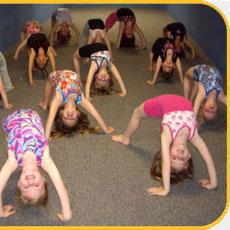 Gymnastics Back Bends