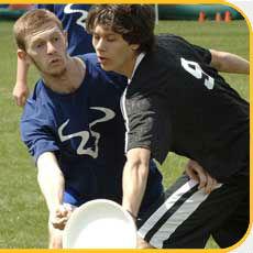 Ultimate Frisbee at Mason Sports park