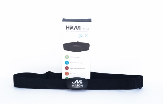 Image of the heart rate monitor that is to be used with the City of Mason Heart Rate Monitoring Program.